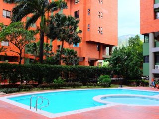 Large 3-Bedroom with balcony, WIFI & Swimming Pool