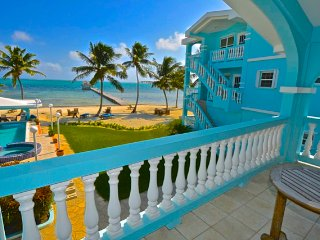 YES!  RENT ME IN BELIZE! - Stunning 2 Bed/2 Bath Villa on Pristine Beach w/Toys, Cayo Ambergris
