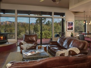 Casual Class Awesome Red Rock Views Hot Tub Hiking Private Comfortable Sedona Az