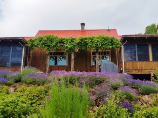 Lavender House - An off-grid nature retreat near Salmon Arm