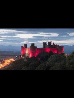 Explore Harlech Castle and village