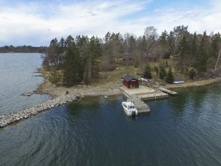 A whole island for you in the Swedish archipelago.