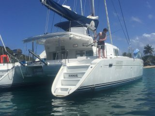 Catamaran ANNIE - Lagoon 440 with four staterooms based in the Grenadines