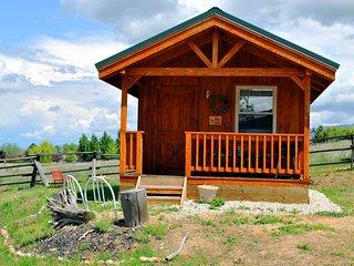 Wolf Den cabin- front view