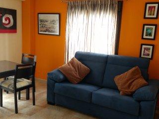 Céntrico apartamento con wifi y aire acondicionado