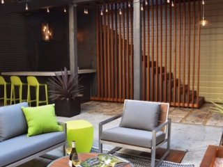 Minimalist Studio with Backyard Fire Pit in SOMA, San Francisco