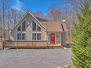 New! 'The Cuckoo's Nest' 3BR Pocono Lake House