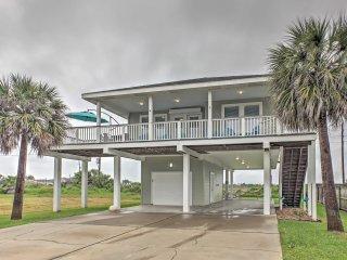 NEW! 'Beach Therapy' 3BR Galveston Home Near Ocean!