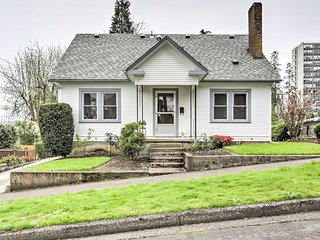 NEW! 4BR Eugene Home at Base of Skinner Butte Park!