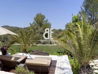 VILLA SANT MIQUELis a modern villa, decorated with touches of Indonesian, Ibiza