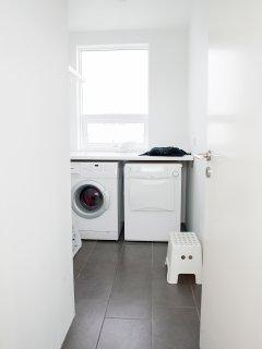 Washing room.