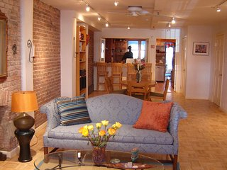 Harlem's Finest! 2 bdrm / 2 bath / living / din / kitchen / garden - sleeps 8!
