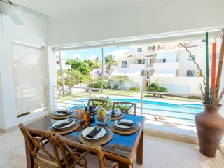 Duplex Majestic Beach Pool Wifi Cleaning PickUp, Bavaro