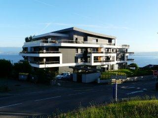 appartement  65 m2 2 à 6 personnes vue lac Evian  golf