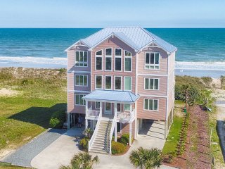 Island Drive 100 Oceanfront! | Private Heated Pool, Hot Tub, Elevator, Game