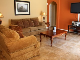 Beautifully furnished 4 bedroom 3 bath pool home just west of Disney (6015)