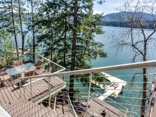Dog-friendly waterfront home w/ dock & boat slip boasts amazing views!, Hayden Lake