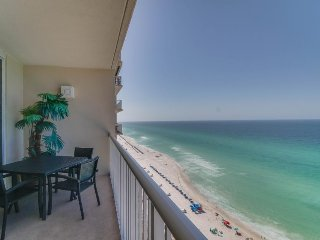 Oceanfront getaway with stunning views, shared pools, tennis, and more!