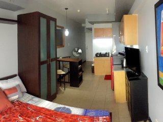 Newly refurbished studio with balcony near Makati