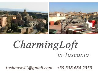 charming loft in tuscania