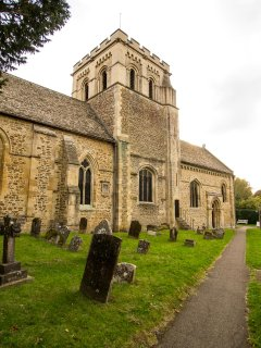 St Mary's Church is of great historic interest, and is famous for it's Piper window.