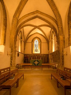 The interior of St Mary's Church is stunning.