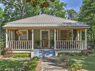 Badged with a Baldwin County historic marker, this alluring cottage welcomes you with quintessential southern charm reminiscent of a bygone era.