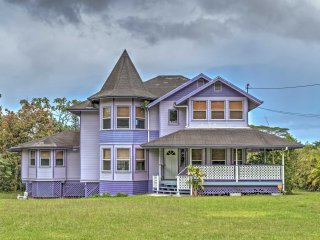 New! Victorian 4BR Keaau Home - 5 Miles From Ocean!