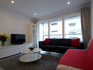 Dance Square 1B apartment in Islington with WiFi, balcony & lift.