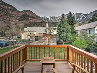 NEW! 2BR Ouray House w/Stunning Views!