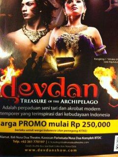 Devden Show a beautiful world class performance at your doorstep