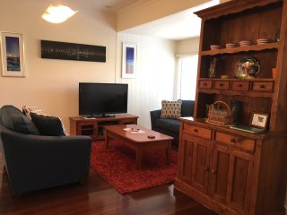 sitting room and dresser