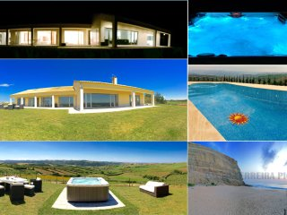 Luxury modern villa with breathtaking views to the countryside and sea!