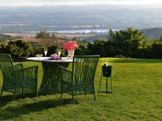 aperitif with fantastic panoramic views