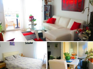 Ashley&Parker - HARMONIE - Quiet apartment with balcony and garage