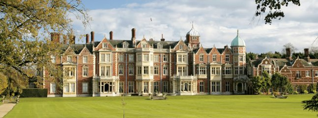Royal Sandringham House and gardens .. 5 minutes away by car