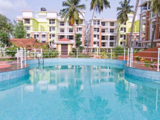 Raj Asia Goa Candolim Beach 2 Bedroom Pool View Apartment