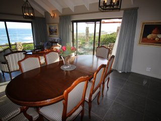 Dining room area with magnificent views