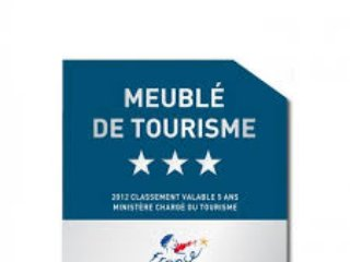 We are proud to have been awarded 3* by the Meublé de Tourisme