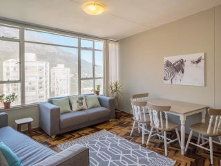 Mid-Century Modern Apartment with Table Mountain Views