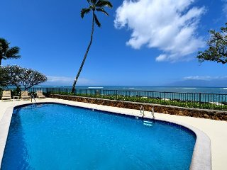 Kahana Reef 217 Trillion Dollar Panoramic West Maui View of Molokai and Lanai
