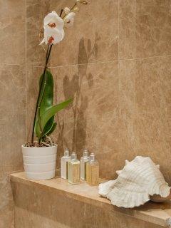 Shower detail ensuite to master bedroom