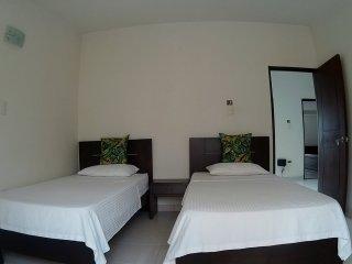 Habitacion Twins Hotel Casa Centenario Pereira / Colombia.