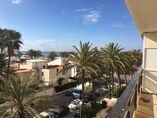 Fantástico duplex frente al mar y a 10 minutos de Valencia