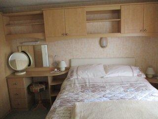 The master bedroom, with en-suite