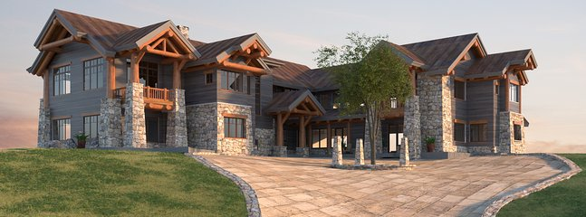 9 BDRM Lodge on 1700 acres. Perfect for Weddings&Retreats. Starting-$450/night