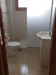 Shower and toilet room
