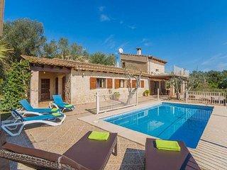 3 bedroom Villa in Petra, Mallorca, Mallorca : ref 4680