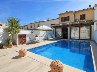 4 bedroom Villa in Lloseta, Balearic Islands, Spain : ref 5333514
