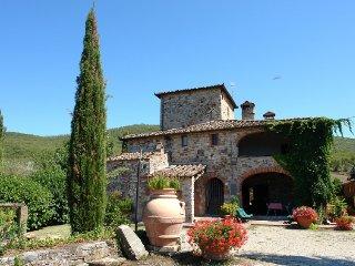 5 bedroom Villa in Gaiole in Chianti, Tuscany Chianti, Italy : ref 2396123